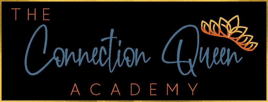 The Connection Queen Academy Logo - Transparent